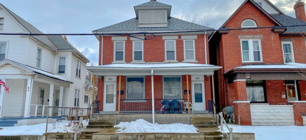 Updated Franklinton Townhouse
